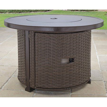 homes gardens colebrook   gas fire pit