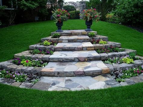 garden path walkway ideas recycled things