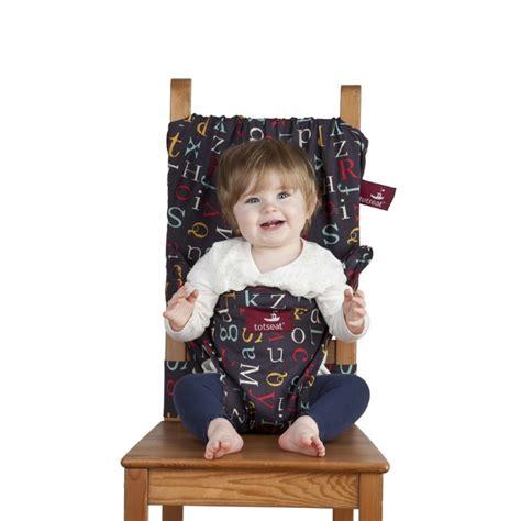 chaise nomade bébé acheter chaise nomade bébé alphabet avec eco sapiens