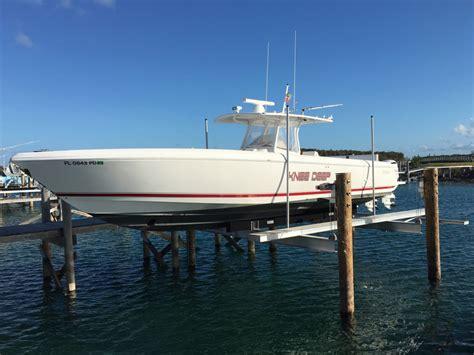 Marina Boat Lift by Boat Lifts Drill Rig Marine Ltd