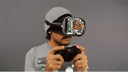 Headset Diy Virtual Reality Vr 3d Oculus