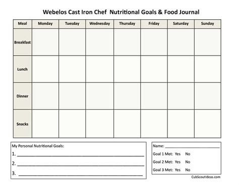 food diaries templates food journal 30 beautiful templates template archive