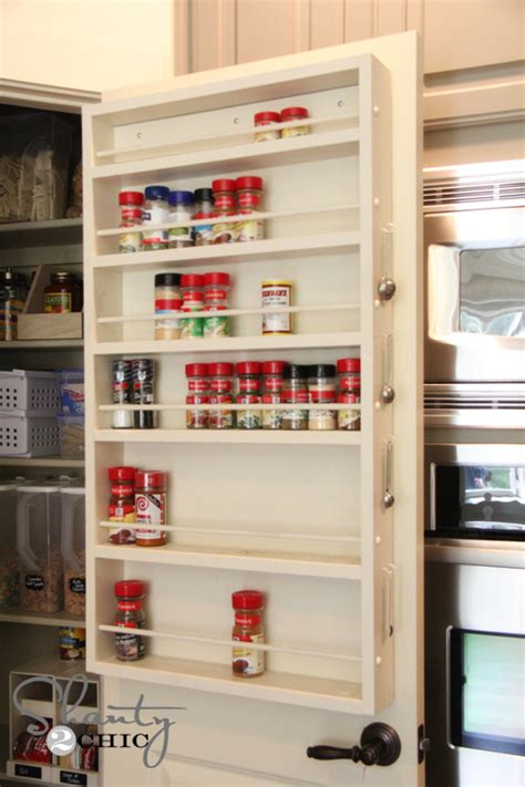 How To Build A Spice Rack by White Door Spice Rack Diy Projects
