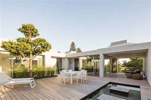 Four, Courtyard, Houses, By, Think, Architecture