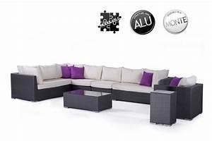 Salon De Jardin Modulable : stunning salon de jardin modulable resine tressee ~ Dailycaller-alerts.com Idées de Décoration