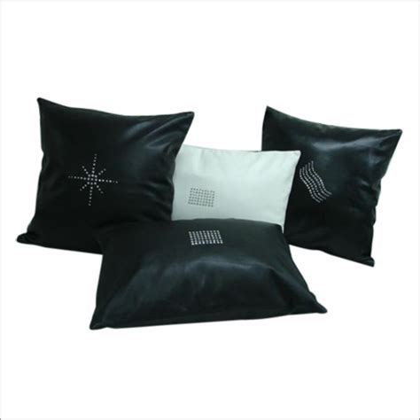 black leather cushion covers black leather cushion