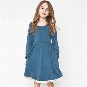 Aliexpress.com : Buy casual dresses for teens girls long ...
