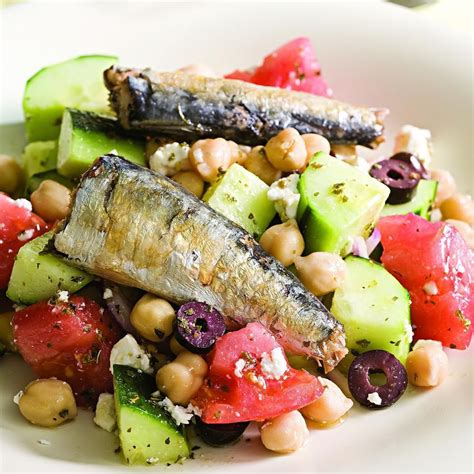 sardine cuisine salad with sardines recipe eatingwell