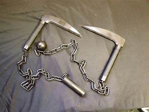 Kusarigama Cosplay Prop (Chain Scythe) by relasine on ...
