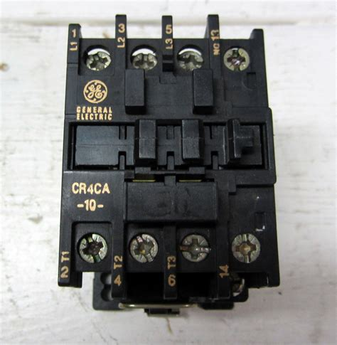 general electric cr4ca 10 cr4ca motor starter contactor
