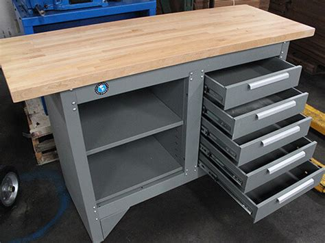 drawer workbench  wood top gses