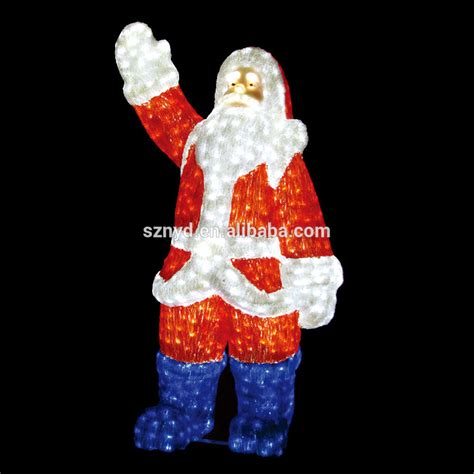 lighted santa claus outdoor christmas decorations buy
