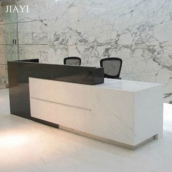 modern office front counter design and office reception