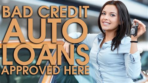 Bad Credit Auto Loans In Pa