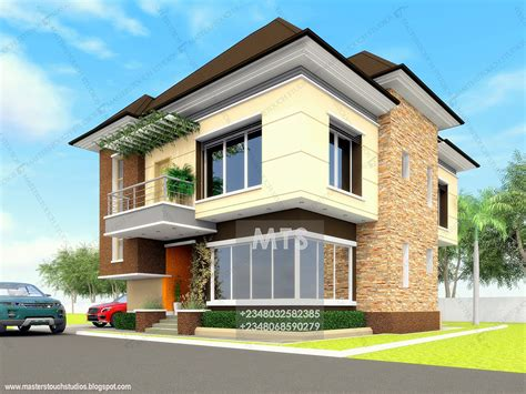 Mr Okeke 4 Bedroom Duplex  Modern And Contemporary