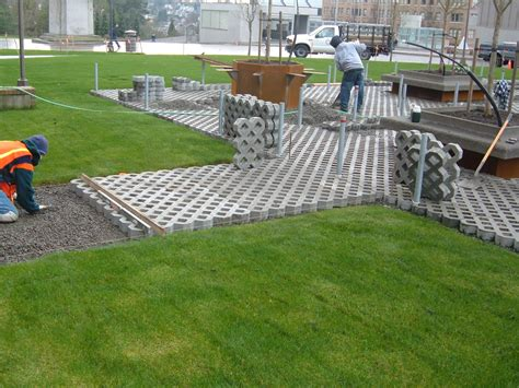 permable paving pervious pavers