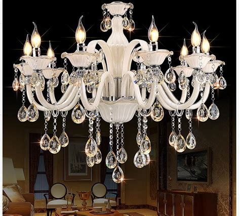 White Modern Chandelier by Newly White Chandelier Modern Chandelier Lustres