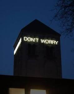 Omdat je je soms zo zorgen kan maken of het allemaal wel