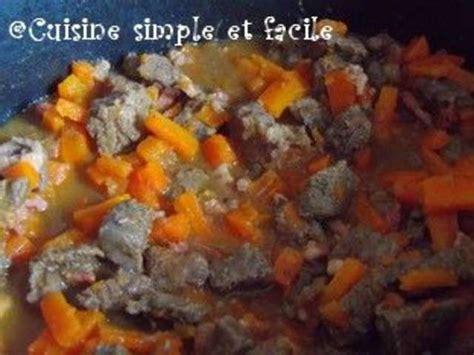 recette de cuisine simple et facile recettes de boeuf aux carottes de cuisine simple et facile