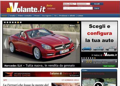 Www Al Volante It Alvolante It Il Portale Di Auto Per L Automobilista