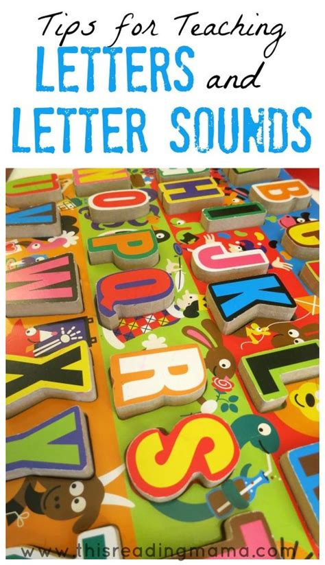 tips for teaching letters and letter sounds teaching 354 | 477fc7dff77cc0e472a423bd43db16f8