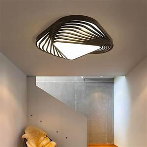New Design Modern Ceiling Light Diy Triangle Led Bedroom