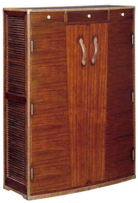 locking wood storage cabinet home furniture design