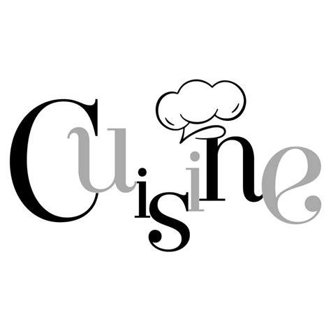 logo chef de cuisine sticker mural quot cuisine et toque quot pour cuisine en vente sur sticker 39 s studio