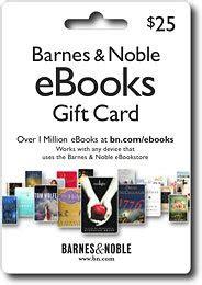 barnes noble gift card barnes noble 25 ebook gift card barnes noble 25