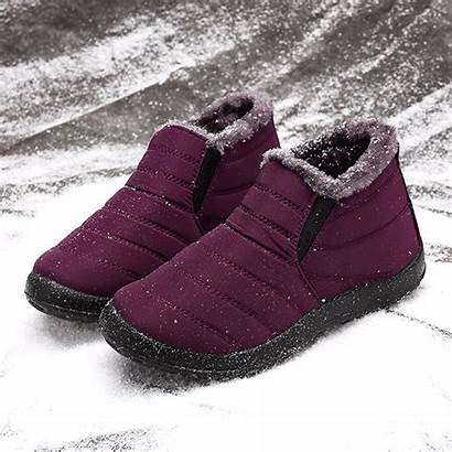 Shoes Boots Snow Waterproof Warm Ankle Lostisy