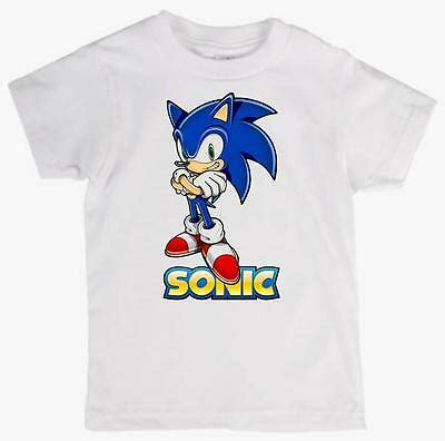 Children's Tee Shirt featuring SONIC THE HEDGEHOG quality ...