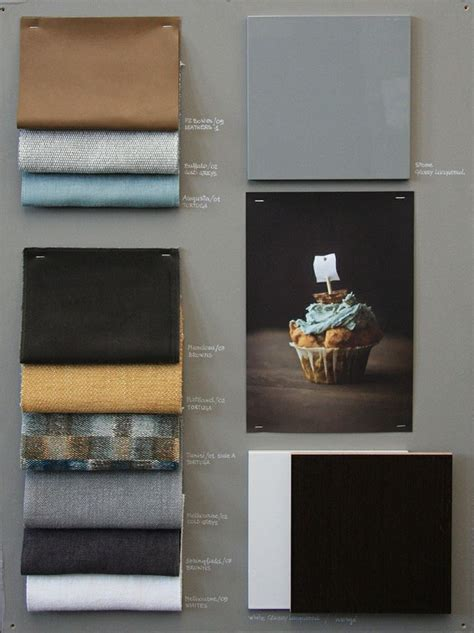 meridiani fabric moodboard  mood board design mixing