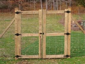 Deer Fence Gates Wood