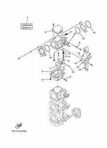 2003 Yamaha Repair Kit 2 Parts For 90 Hp F90tlrb Outboard