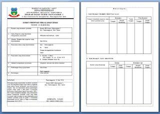 Contoh Surat Perintah Tugas Perjalan Dinas by Contoh Sppd Surat Perintah Perjalanan Dinas Dari Kepala
