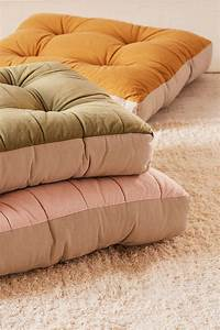 10 easy apartment decorating ideas sunset magazine With down floor pillow