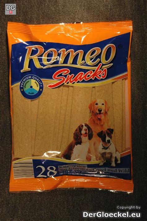 rondo cuisine hofer aldi hundenahrung romeo snacks 28 x 10g