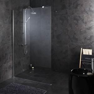 paroi pour douche parois douche avec effet miroir With porte de douche coulissante avec miroir salle de bain 140 x 90