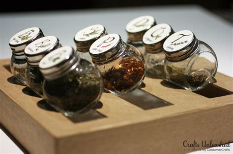 Spice Rack Stickers by Diy Spice Rack With Free Printable Labels