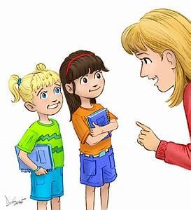 Kids Listening To Teacher Clipart - ClipartXtras
