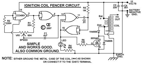 Diy Electric Fence Circuit Technology