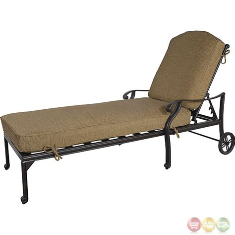 chaises aluminium charleston 3 cast aluminum outdoor chaise lounge set