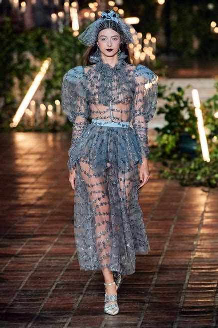 fashion week de  york le defile rodarte automne hiver