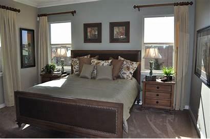 Wall Window Windows Between Bedroom Bed Treatments