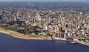 Mapa de Paraguay, donde está, queda, país, encuentra, localización, situación, ubicación