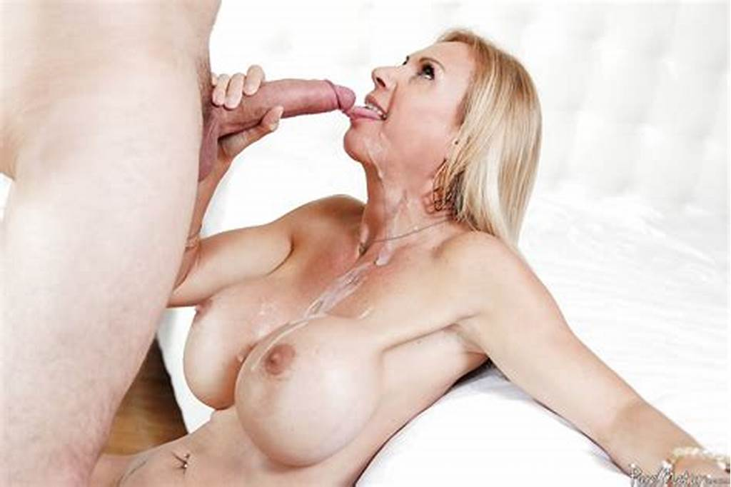 #Mature #Blonde #Brooke #Tyler #Gives #Blowjob #And #Swallows