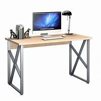 computer workstation furniture Computer Desk PC Laptop Table Writing Study Workstation ...