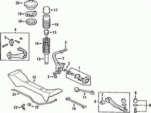 2004 Hyundai Sonata Rear Suspension Diagram