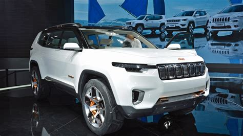 jeep yuntu hybrid concept  foreshadow future chinese