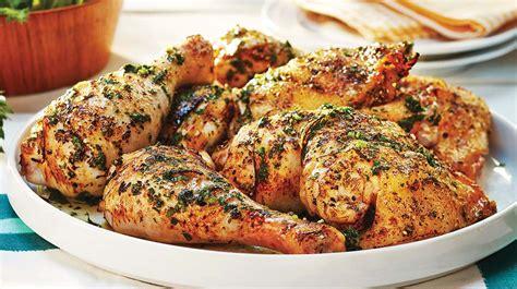 la cuisine au barbecue poulet grillé et sauce express au citron et aux herbes recettes iga